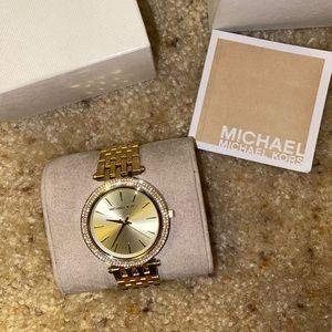 Darci Gold-Tone Stainless Steel Bracelet Watch